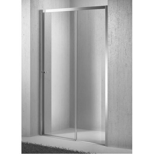 Sprchové dveře zasouvací Move D2 116-121cm