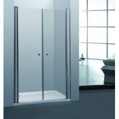 Sprchové dveře PURE D2 120 dvoukřídlé čiré sklo 116-121 x 190 cm poškozený obal