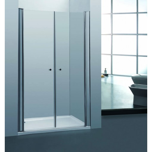 Sprchové dveře PURE D2 80 dvoukřídlé 76-81 x 190 cm