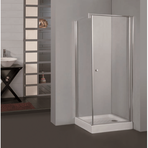 Pure A1 90 cm  Sprchová zástěna 90x90x190cm s otočnými dveřmi