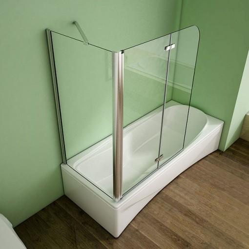 Pevná boční stěna V70, 68-70x140cm, 6 mm sklo, k vanovým zástěnám S22 a S33