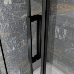 Posuvné sprchové dveře DIAMOND BLACK 136- 140x200cm L/P varianta