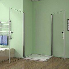 Sprchový kout MELODY A4 70cm se dvěma  jednokřídlými dveřmi