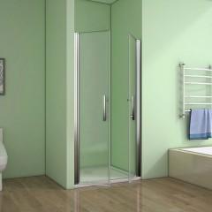 Sprchové dveře SAFE D2 120 FROST dvoukřídlé 116-120 x 195 cm
