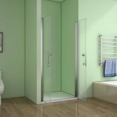 Sprchové dveře SAFE D2 75 FROST dvoukřídlé 71-75 x 195 cm