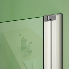 Čtvercový sprchový kout MELODY 90x90 cm se zalamovacími dveřmi