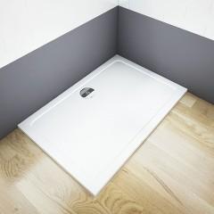 THOR Sprchová vanička z litého mramoru, obdélník, 150x90x3 cm