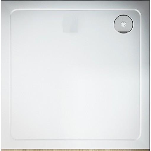 THOR Sprchová vanička z litého mramoru, čtverec, 80x80x3 cm
