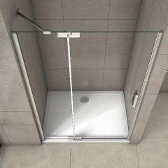 Sprchové dveře TIFANY B5 120 jednokřídlé s pevnou stěnou 119-122 x 200 cm