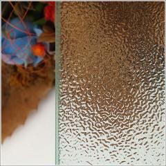 Zalamovací dveře MELODY B8 109-112 x 195 cm, sklo GRAPE, levá varianta