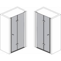 Sprchové dveře zalamovací SPACE 1000 mm (SPACE100)