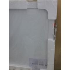 THOR Sprchová vanička z litého mramoru, čtverec, 90x90x3 cm - II. jakost