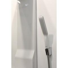 Hansgrohe Sprchový panel Lift 180 2jet, bílá/chrom 27008400