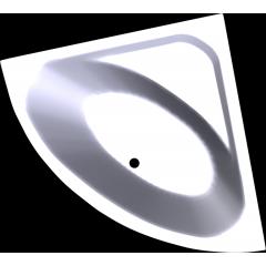 Symetrická vana LUKSJA 148 x 148 cm