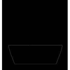 VICTORIA 185x83 cm volně stojící koupací vana