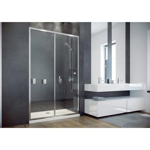 DUO SLIDE 140 sprchové dveře zasouvací 138-142 cm x 195cm