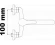 Umyvadlové baterie rozteč 100mm