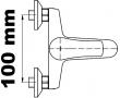 Vanové baterie rozteč 100mm
