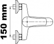 Vanové baterie rozteč 150mm