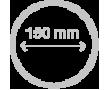Koupelnové ventilátory - průměr 150mm