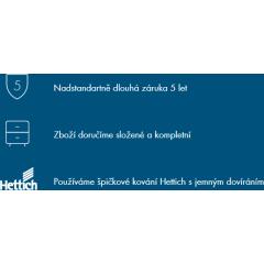 Dřevojas - DURASTYLE 100 keramické umyvadlo - BÍLÉ (05866)