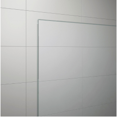 SanSwiss TOPS4 1400 50 07 Sprchové dveře dvoudílné 140 cm, aluchrom/sklo