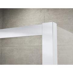 SanSwiss TOPS3 0700 01 22 Sprchové dveře třídílné 70 cm, matný elox/durlux