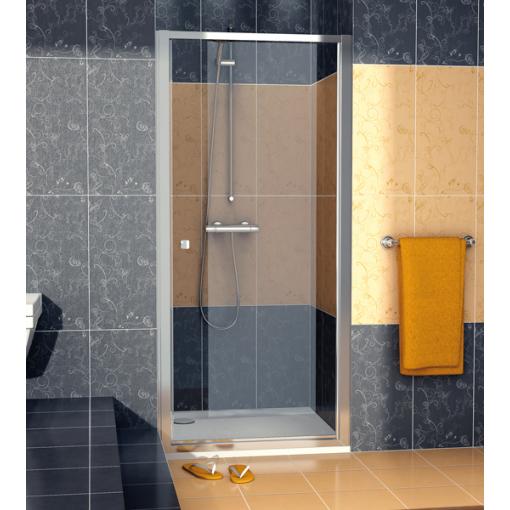 SanSwiss ECOP 1000 50 07 Jednokřídlé dveře 100 cm, aluchrom/sklo