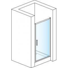 SanSwiss TOPP 1000 04 07 Jednokřídlé dveře 100 cm, bílá/sklo