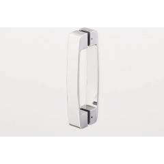 SanSwiss SLR 55 0800 50 44 Sprchový kout čtvrtkruhový 80 cm, aluchrom/cristal perly