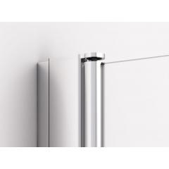 SanSwiss SLF2G 1000 50 07 Levý díl sprchového koutu skládací 100 cm, aluchrom/sklo