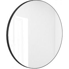 Kulaté zrcadlo VALO Slim 70cm,černé
