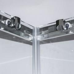Čtvercový sprchový kout OBS2 800x800 mm s posuvnými dveřmi. 4000703