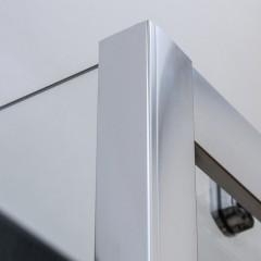 Posuvné sprchové dveře OBD2 s pevnou stěnou OBB Obdélníkový sprchový kout 1200x900 mm OBD2-120_OBB-90