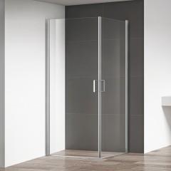 Sprchový kout OBCO1+OBCO1 s dvoukřídlými dveřmi Čtvercový 800x800 OBCO1-80_OBCO1-80