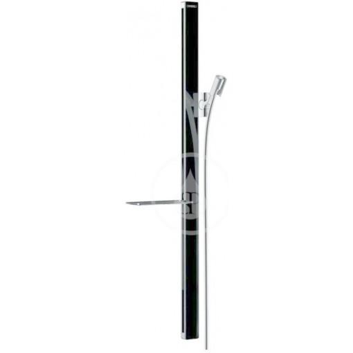 Hansgrohe Sprchová tyč 900 mm, se sprchovou hadicí, černá/chrom 27640600