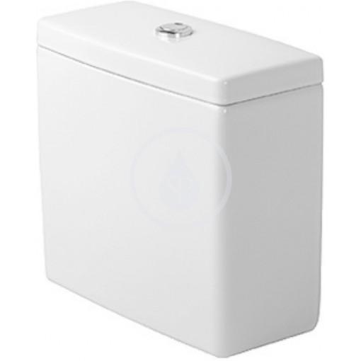 Duravit Splachovací nádrž 390x185 mm, připojení dole vlevo, bílá 0920100085