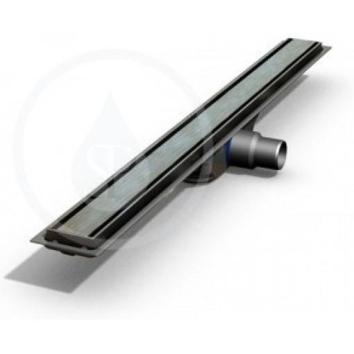 I-Drain Nerezový rošt pro sprchový žlab Plano lesklý, délka 1200 mm IDRO1200F