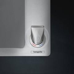Hansgrohe Set dřezu a baterie C71-F450-12, vzhled nerezu 43230800