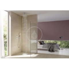 Kludi Horní sprcha, 300x300 mm, bílá/chrom 6453091-00