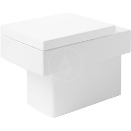 Duravit Stojící klozet 370 x 570, bílý 2117090000