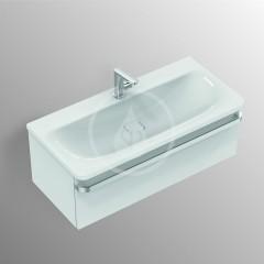 Ideal Standard Skříňka pod umyvadlo, 1000x440x350 mm, lesklá bílá R4304WG