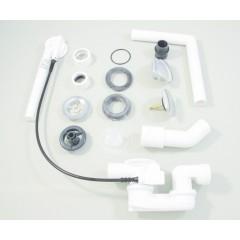 Ideal Standard Odtoková a přepadová souprava Multiplex, chrom K7804AA
