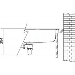 Franke Nerezový dřez GAX 611/2, 1000x500 mm, s odkapávací plochou vpravo 101.0120.144