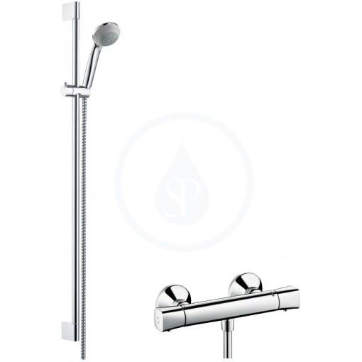 Hansgrohe Sprchový set Vario s termostatem, sprchová tyč 900 mm, chrom 27080000