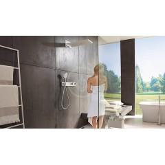 Hansgrohe Termostatická sprchová baterie pod omítku, pro 3 výstupy, chrom 15356000