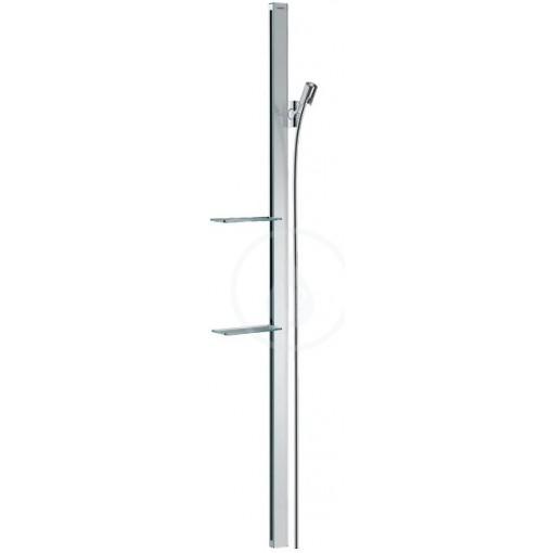 Hansgrohe Sprchová tyč 1500 mm, se sprchovou hadicí, chrom 27645000