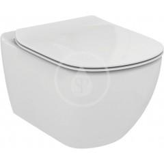 Geberit Sada pro závěsné WC + klozet a sedátko softclose Ideal Standard Tesi - sada s tlačítkem Sigma50, výplň bílá 111.300.00.5 NE8