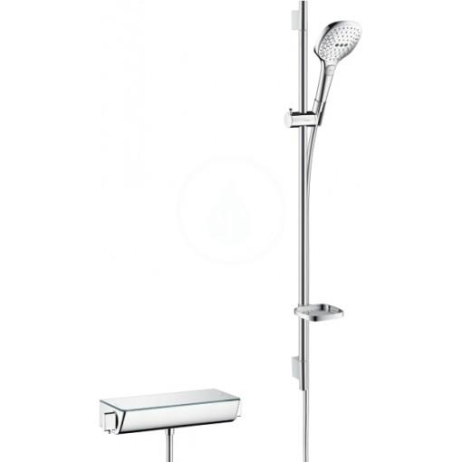 Hansgrohe Sprchový set 120 s termostatem Ecostat Select, 3 proudy, chrom 27039000