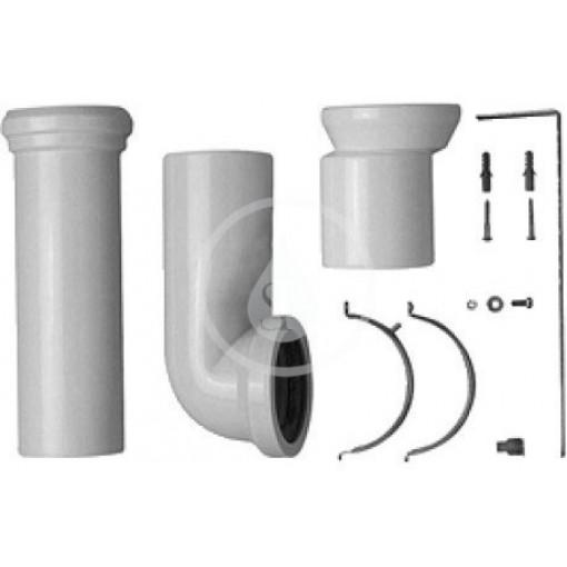 Duravit Vario připojovací sada pro WC, bílá 0014220000